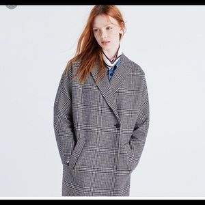 Madewell oversized keaton cocoon coat(runs large)